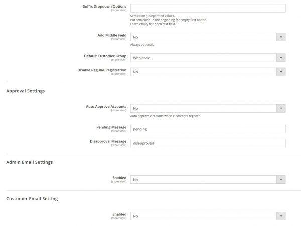 Magento 2 B2B Registration Form-5278