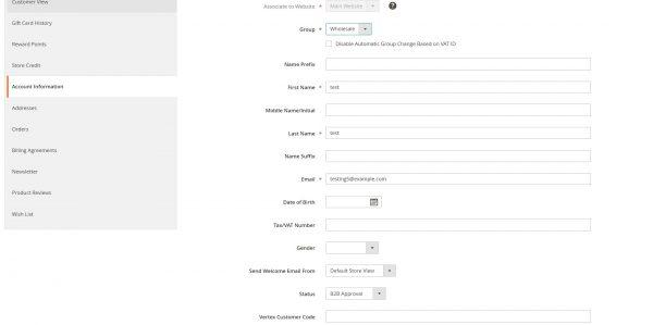 Magento 2 B2B Registration Form-5282