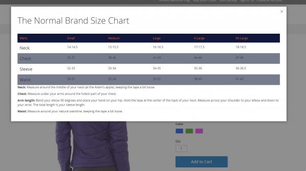 Magento 2 Size Chart-5558